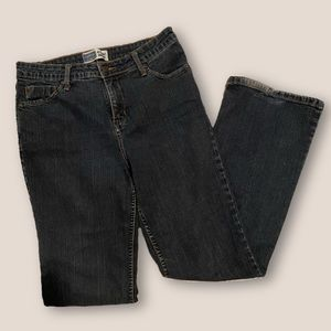 levi's at waist bootcut jeans